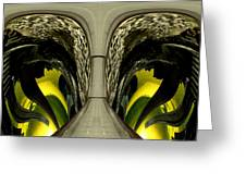 Eyes Of The City Greeting Card