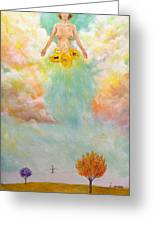 Ezekiel Revisited Greeting Card by James  Andrews
