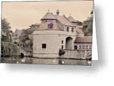 Ezelport City Gate In Bruges Greeting Card