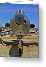 F-105b Tunderchief Greeting Card