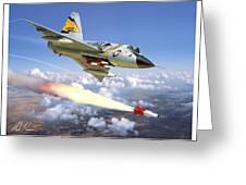F-106 Delta Dart 5th Fis Greeting Card