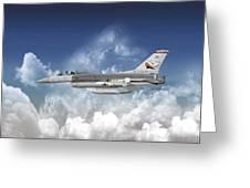 F-16c Falcon Greeting Card
