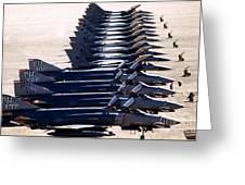 F-4e Phantom II Aircraft Greeting Card