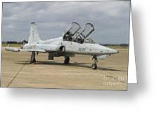 F-5 Tiger II Used As A Lead-in Trainer Greeting Card