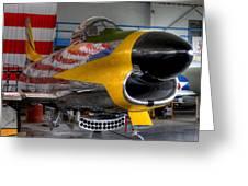 F-86 D Greeting Card