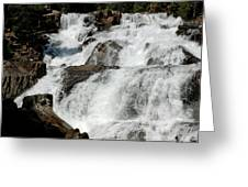 F Stop Glen Alpine Falls Greeting Card
