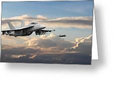 F18 - Super Hornet Greeting Card