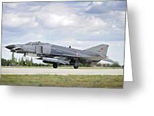F4e Phantom II  Aircraft Greeting Card