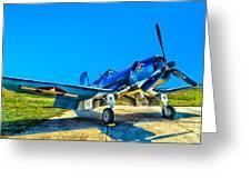 F4u Corsair My Marines Dream  Greeting Card
