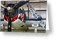 F6f Hellcat Greeting Card