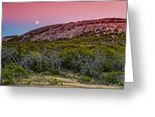 F8 And Be There - Enchanted Rock Texas Hill Country Greeting Card
