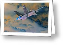 Fa-18d Hornet Greeting Card