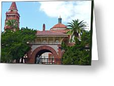 Fabulous Flagler College Greeting Card