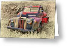 Fabulous Ford Greeting Card by Robert Jensen