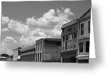 Facade In Missouri  Greeting Card