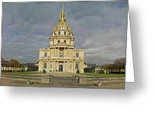 Facade Of The St-louis-des-invalides Greeting Card