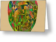 Face Of Destiny Greeting Card