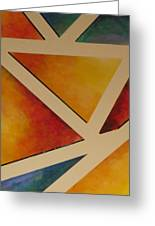 Facets 4 Greeting Card