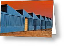 Factory Building Greeting Card
