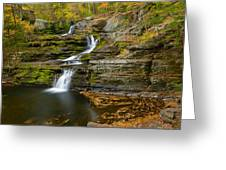 Factory Falls Greeting Card