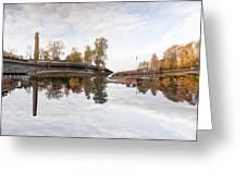 Factory In Helsinki Greeting Card