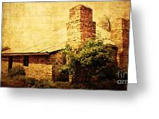 Faded Building Greeting Card