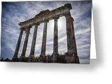 Faded Glory Of Rome Greeting Card