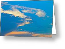 Fading Clouds Greeting Card