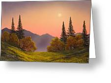 Fading Light Greeting Card