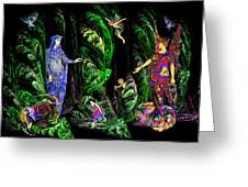 Faery Forest Greeting Card