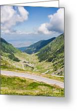 Fagarasi Mountains Greeting Card