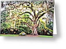 Fairchild Painted Greeting Card