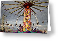 Fairground Fun 4 Greeting Card