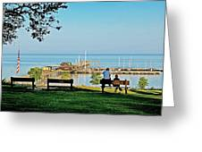 Fairhope Alabama Pier Greeting Card