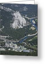 Fairmont Banff Springs Hotel And Golf Course Greeting Card