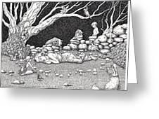 Fairy Circle Greeting Card