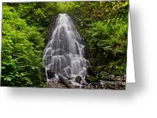 Fairy Falls In Spring Greeting Card