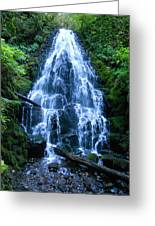 Fairy Falls Oregon Greeting Card