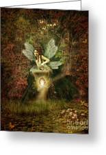 Fairy Forest Lake Greeting Card