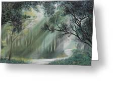 Fairy Glen Greeting Card