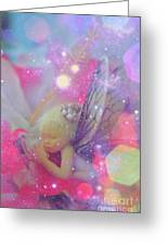 Fairy In Fairy Dust Greeting Card