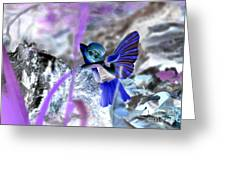 Fairy In The Woods Surreal Greeting Card