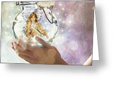 Fairy Greeting Card by Juli Scalzi