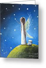 Fairy Maker By Shawna Erback Greeting Card by Shawna Erback