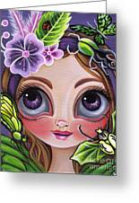 Fairy Of The Insects Greeting Card