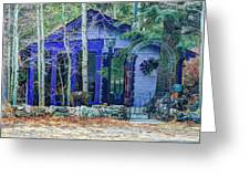 Fairy Tale In The Woods Greeting Card