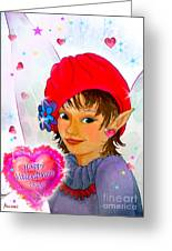 Fairy Valentine Greeting Card