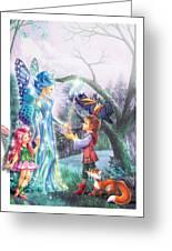 Fairy Wand Greeting Card