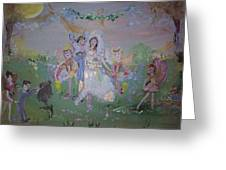 Fairy Wedding Greeting Card