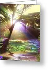 Fairyland Sunset Greeting Card